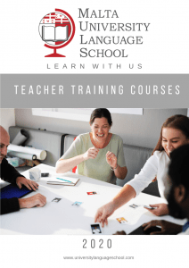 Malta University Language School teacher training courses 2020