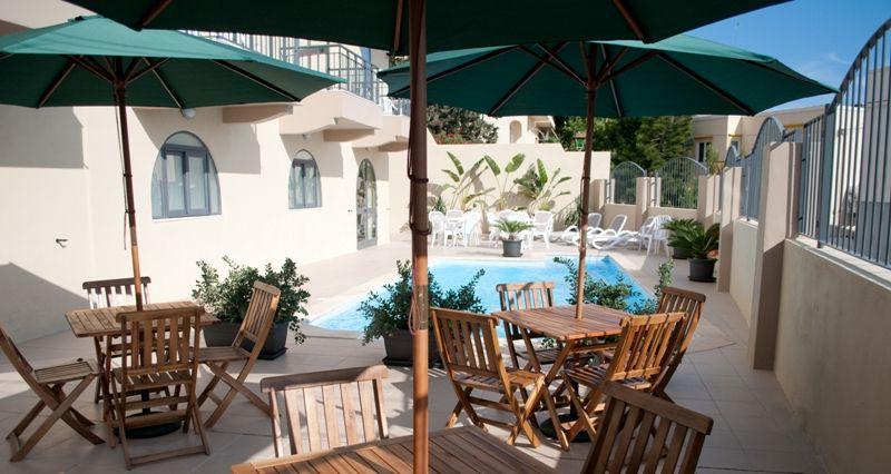 Swimming pool at Hotel Kappara