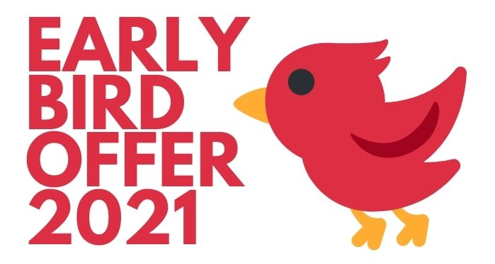 early bird offer on intensive English