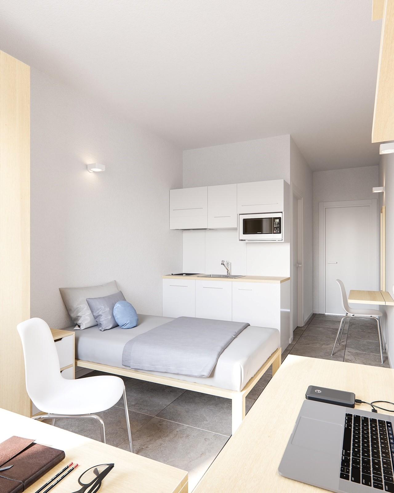 new University Residence room 1