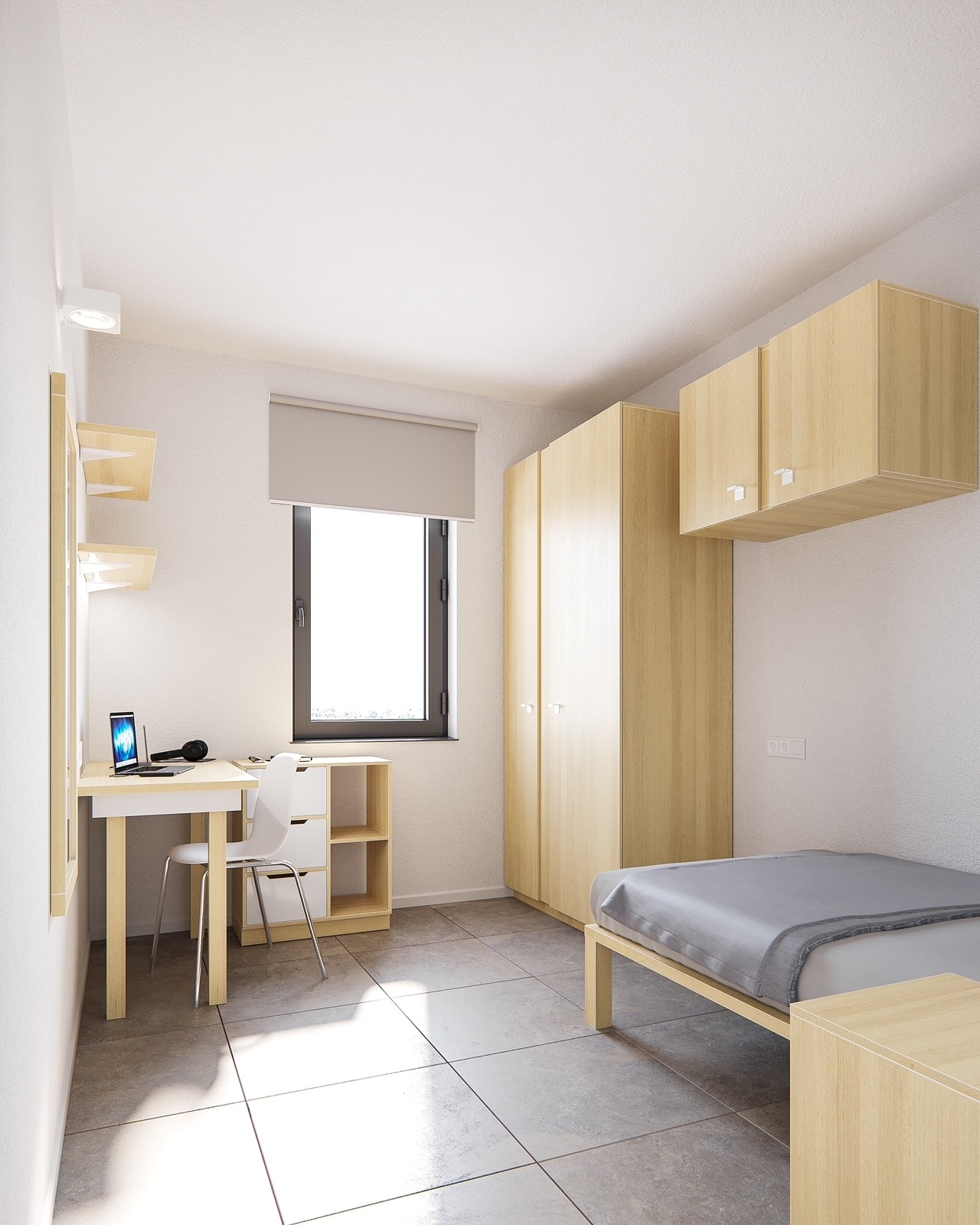 new University Residence room 3