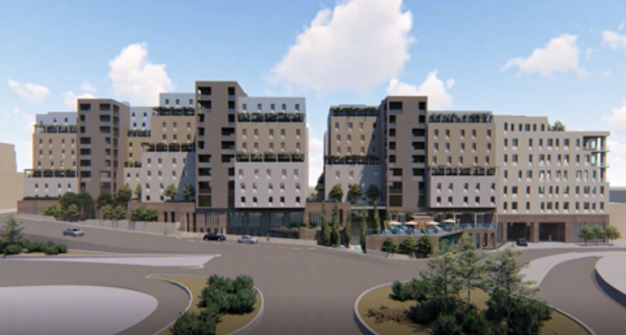 new building on campus at University of Malta