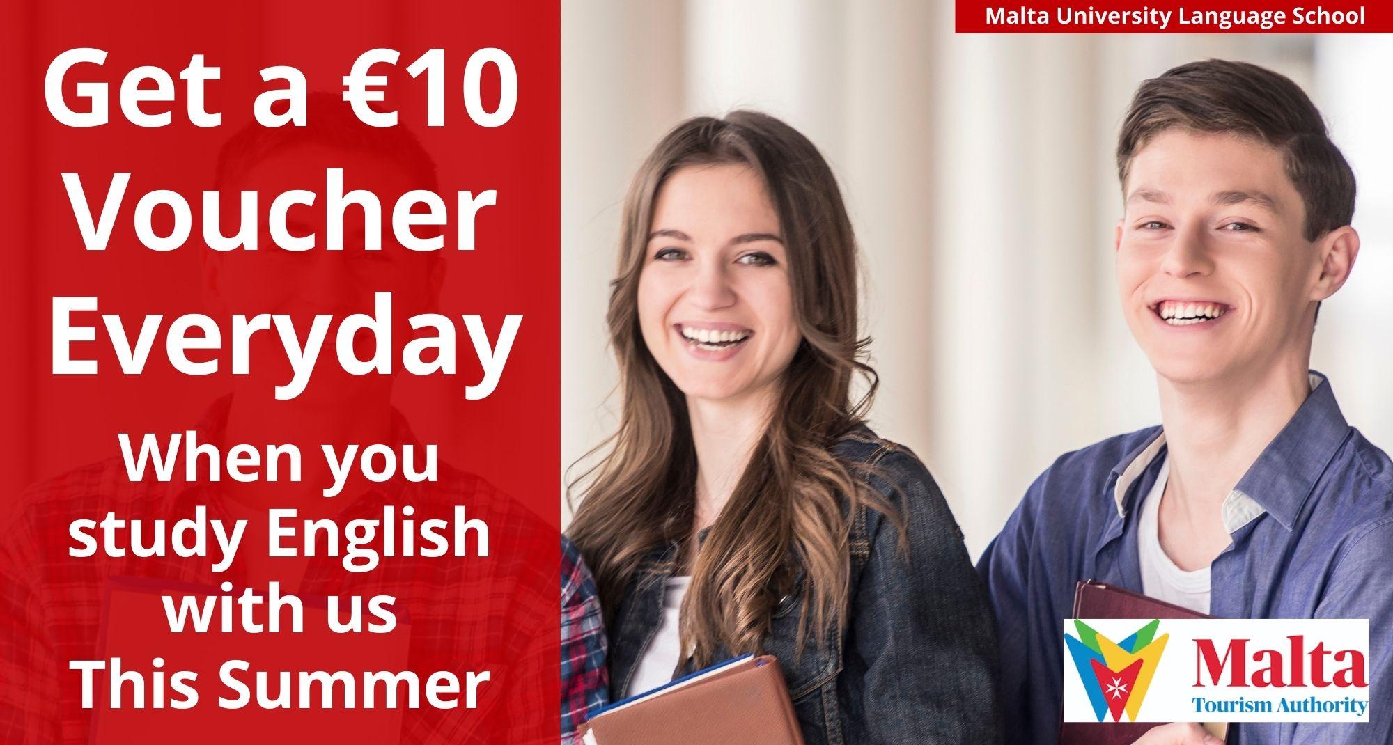 €10 voucher offer summer 2021